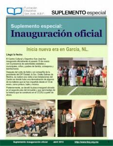 Reporte Especial de Inauguración
