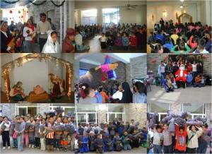 Actividades diciembre 2011 en el Centro de la Esperanza