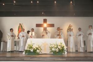 Eucaristía 19 mzo 2013