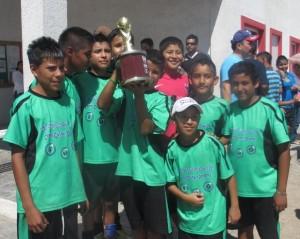 Centro Cultural y Deportivo San José campeones fútbol 7