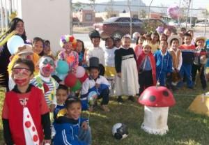 Niños del Centro Educativo Fundación San José