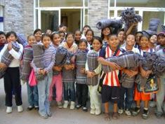 Niños de la Fundación Educativa San José A.B.P.
