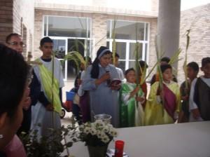 Domingo de Ramos, Centro de la Esperanza